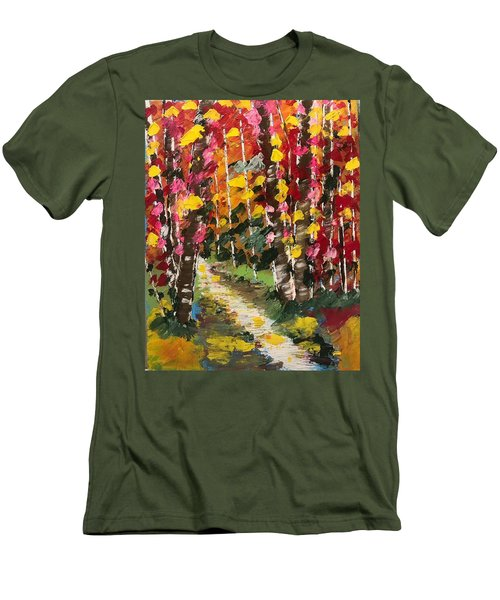 Magical Forest Men's T-Shirt (Athletic Fit)