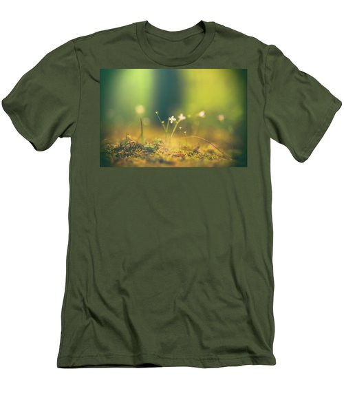 Men's T-Shirt (Slim Fit) featuring the photograph Magical Moment by Shane Holsclaw
