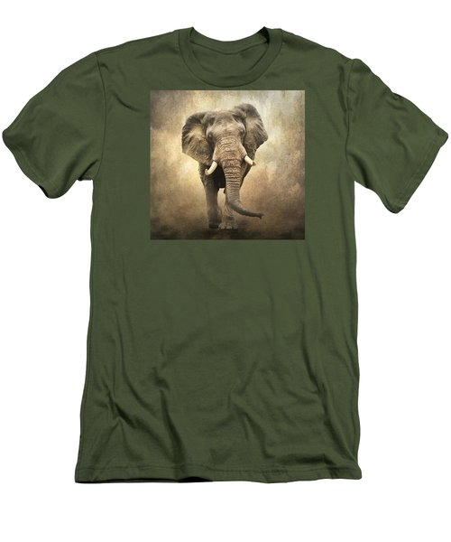 Men's T-Shirt (Slim Fit) featuring the photograph Majestic Beauty by Brian Tarr