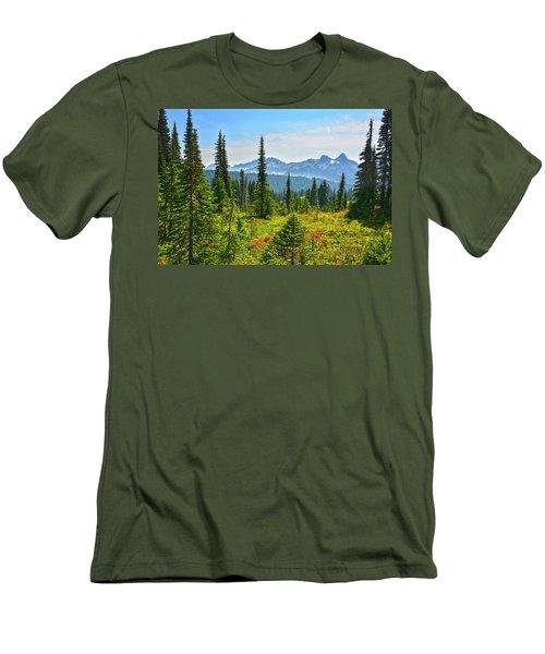 Majestic Meadows Men's T-Shirt (Athletic Fit)