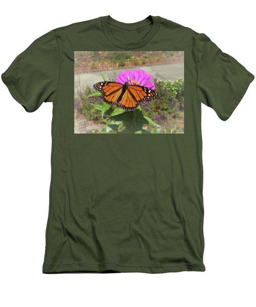 Male Monarch  Men's T-Shirt (Athletic Fit)