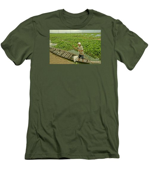 Men's T-Shirt (Slim Fit) featuring the photograph Man Of Daily Life by Arik S Mintorogo