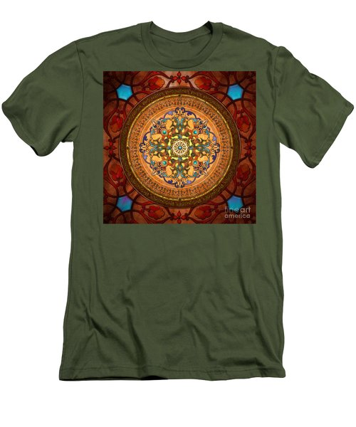 Mandala Arabia Men's T-Shirt (Athletic Fit)