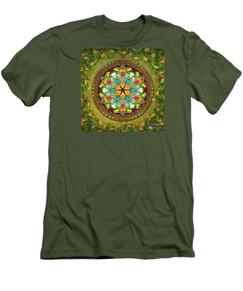Mandala Evergreen Men's T-Shirt (Athletic Fit)