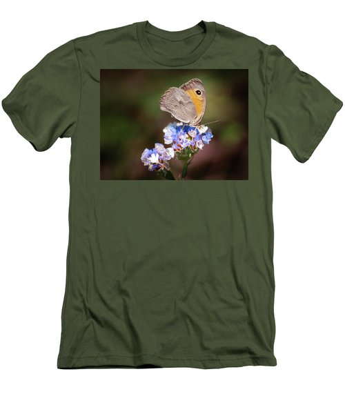 Maniola Telmessia Men's T-Shirt (Athletic Fit)