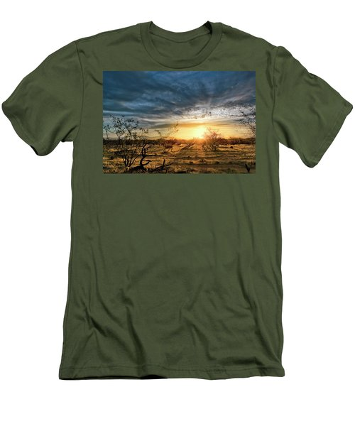 March Sunrise Men's T-Shirt (Athletic Fit)