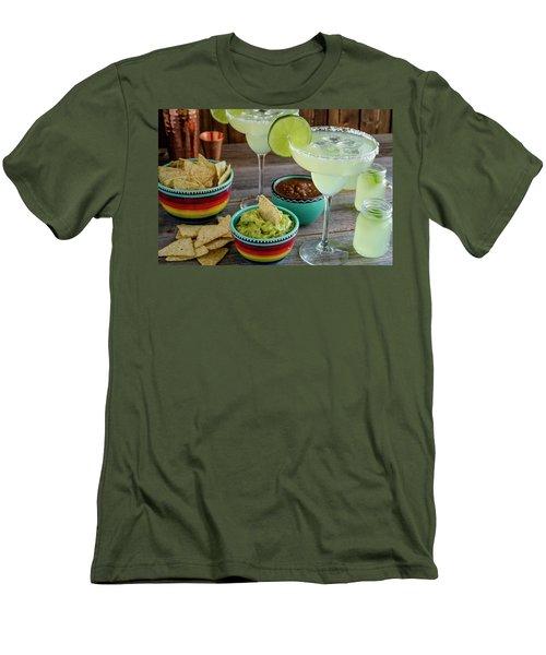 Margarita Party Men's T-Shirt (Slim Fit) by Teri Virbickis