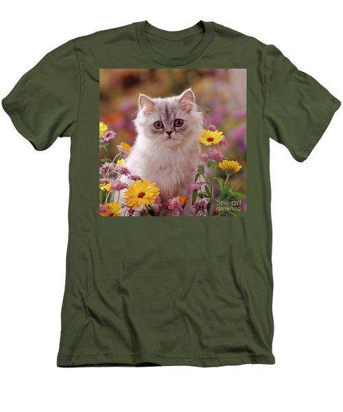 Marigold Chinchilla Men's T-Shirt (Athletic Fit)