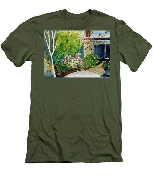 Marin Art And Garden Center Men's T-Shirt (Slim Fit) by Tom Simmons