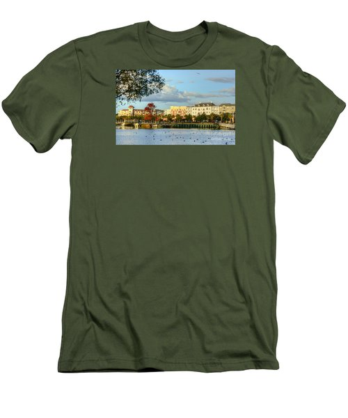 Market Common Myrtle Beach Men's T-Shirt (Athletic Fit)
