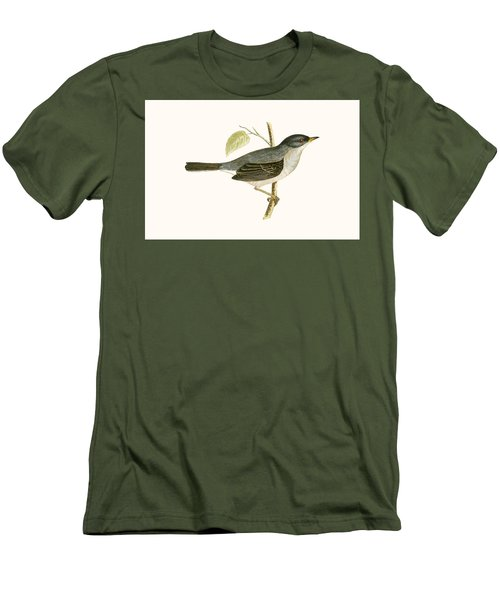 Marmora's Warbler Men's T-Shirt (Slim Fit) by English School