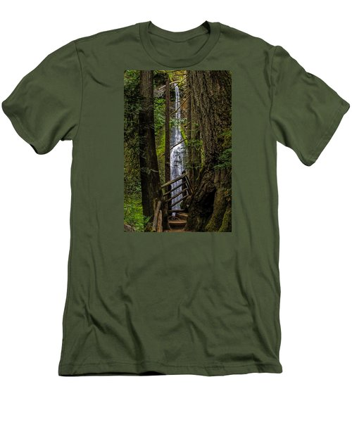 Mary Mere Men's T-Shirt (Slim Fit) by Alana Thrower