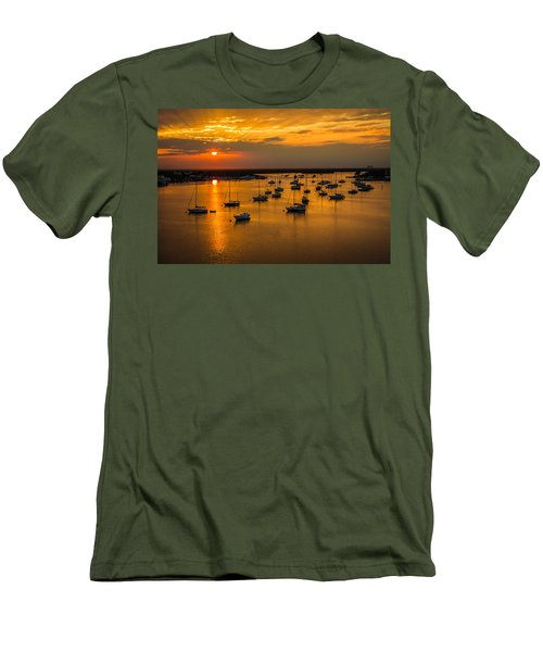 Matanzas Harbor Men's T-Shirt (Athletic Fit)