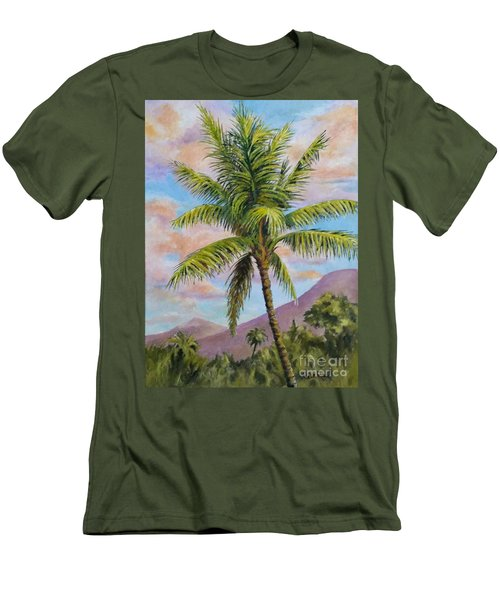 Maui Palm Men's T-Shirt (Slim Fit) by William Reed