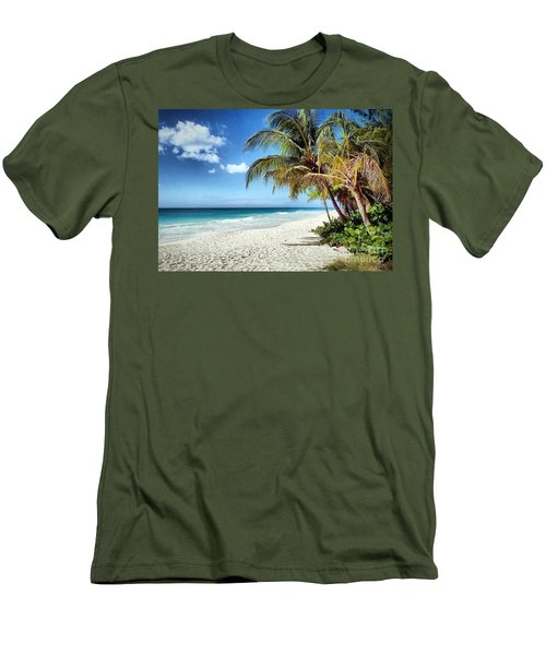 Maxwell Beach Barbados Men's T-Shirt (Athletic Fit)