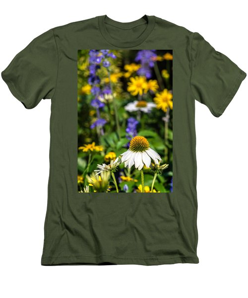 Men's T-Shirt (Athletic Fit) featuring the photograph May Flowers by Steven Sparks