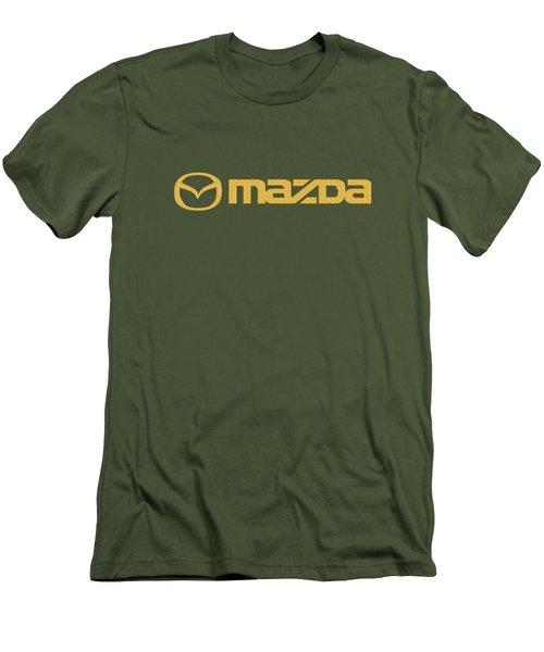 Mazda Car Logo Men's T-Shirt (Athletic Fit)