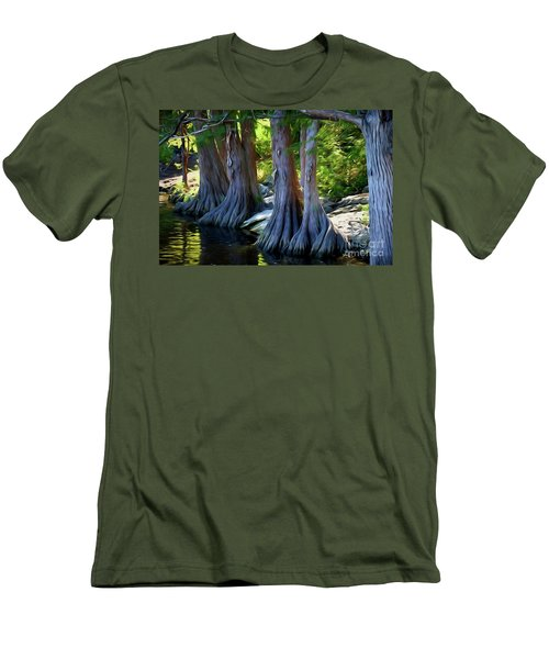 Mckinney Falls State Park - Texas 12118-2 Men's T-Shirt (Athletic Fit)
