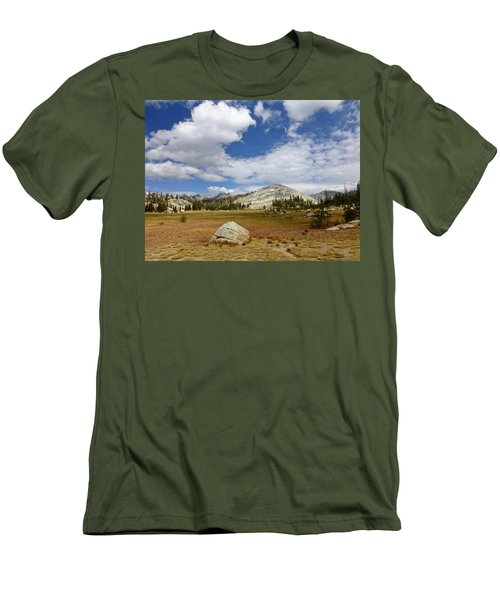 John Muir Trail High Sierra Camp Meadow Men's T-Shirt (Athletic Fit)