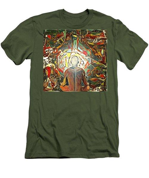 Meditation Men's T-Shirt (Athletic Fit)