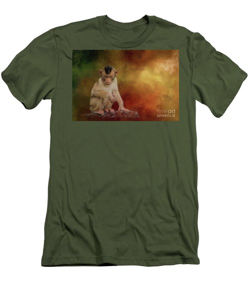 Meditative Men's T-Shirt (Athletic Fit)