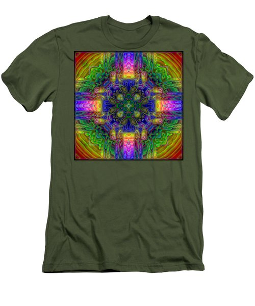 Melted Men's T-Shirt (Slim Fit) by Lyle Hatch