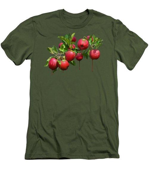 Melting Apples Men's T-Shirt (Athletic Fit)