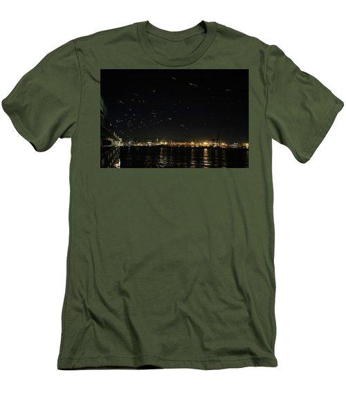 Memorable Naples Evening Departure Men's T-Shirt (Athletic Fit)