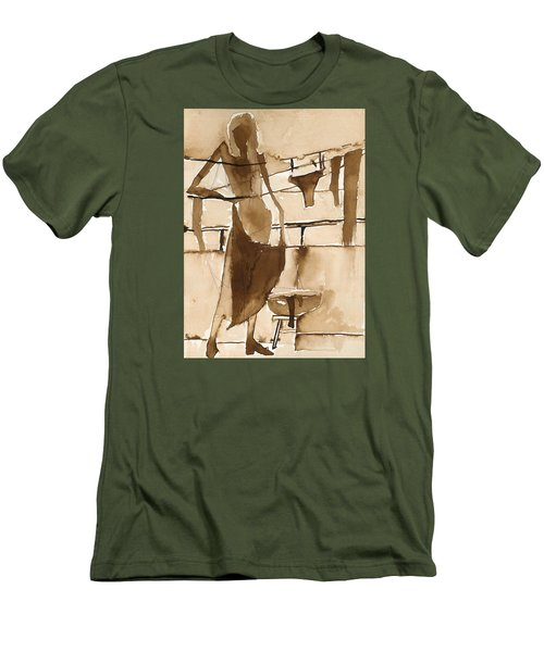 Memories From Childhood Men's T-Shirt (Slim Fit) by Maya Manolova