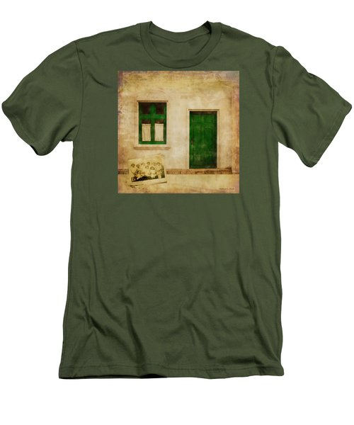 Memories Of Irish Green Men's T-Shirt (Slim Fit) by Bellesouth Studio
