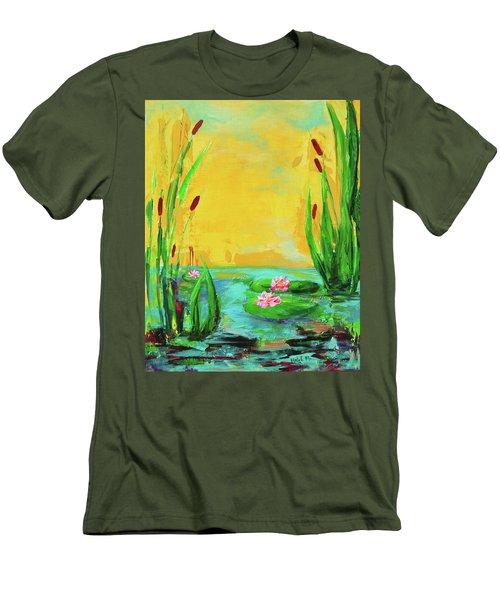 Memories Of The Lake Men's T-Shirt (Athletic Fit)
