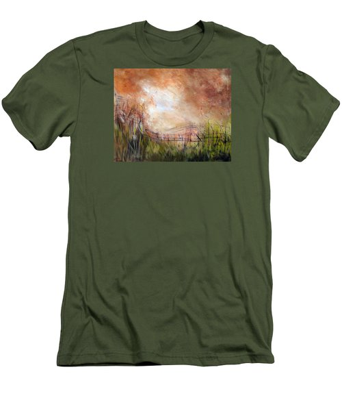 Mending Fences Men's T-Shirt (Athletic Fit)