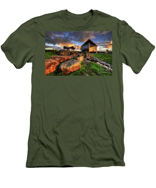 Men's T-Shirt (Slim Fit) featuring the photograph Mercia Marina 15.0 by Yhun Suarez