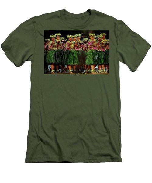 Merrie Monarch 2017 Men's T-Shirt (Slim Fit) by Craig Wood