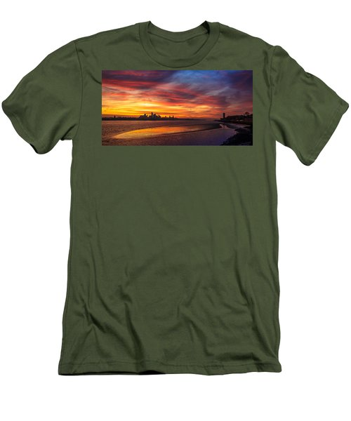 Mersey Sunrise Men's T-Shirt (Athletic Fit)