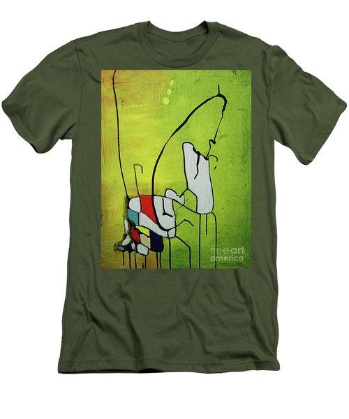 Mi Caballo Men's T-Shirt (Athletic Fit)