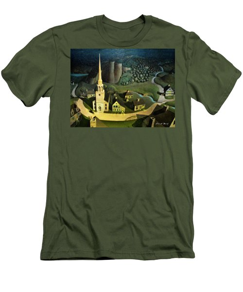 Midnight Ride Of Paul Revere Men's T-Shirt (Athletic Fit)