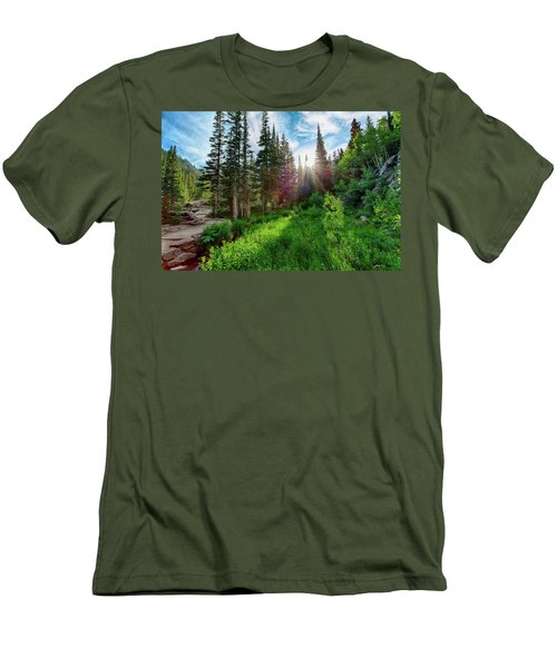 Men's T-Shirt (Athletic Fit) featuring the photograph Midsummer Dream by David Chandler