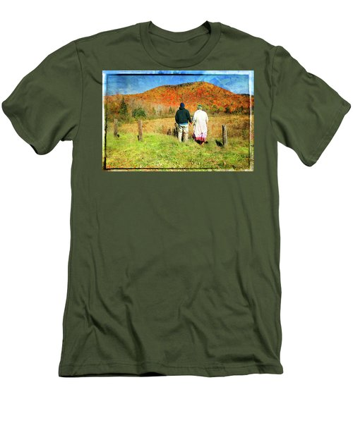 Mike And Lisa Men's T-Shirt (Athletic Fit)