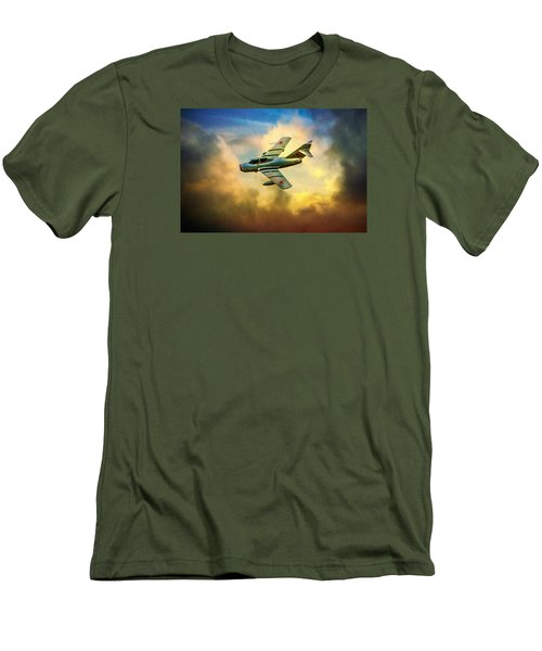 Men's T-Shirt (Slim Fit) featuring the photograph Mikoyan-gurevich Mig-15uti by Chris Lord