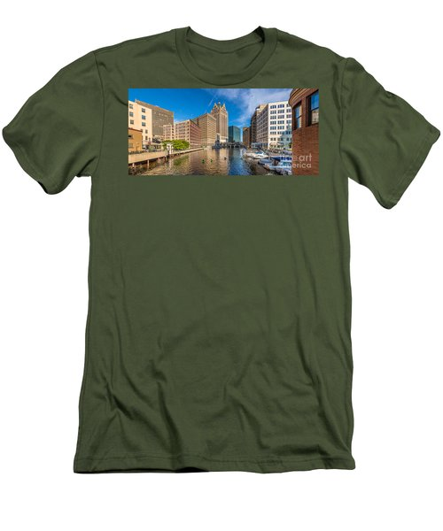 Milwaukee Summer Nights Men's T-Shirt (Athletic Fit)