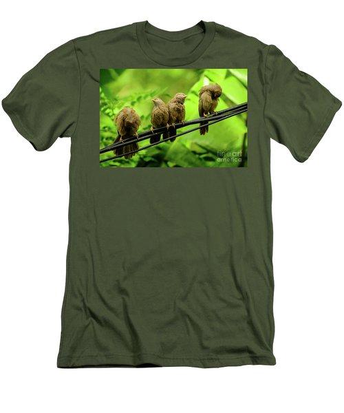 Mirror Image Men's T-Shirt (Athletic Fit)