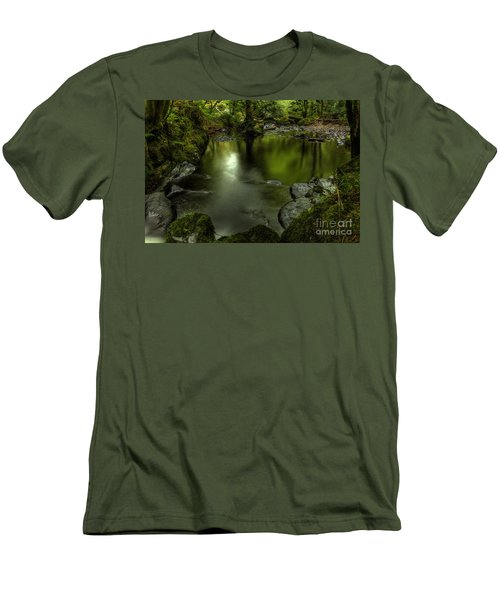Mirror Pool Men's T-Shirt (Athletic Fit)