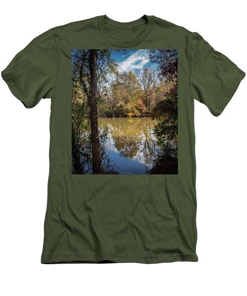 Mirror River Men's T-Shirt (Athletic Fit)
