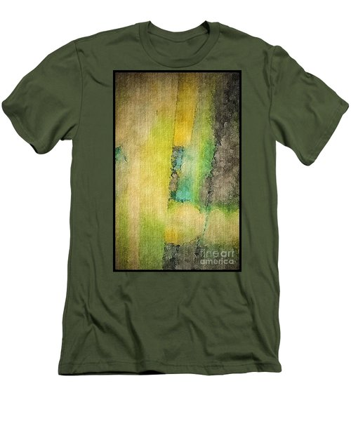 Men's T-Shirt (Slim Fit) featuring the photograph Mirror by William Wyckoff
