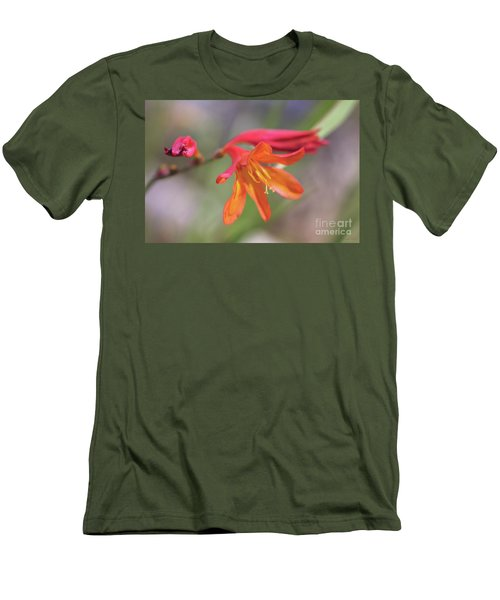 Men's T-Shirt (Athletic Fit) featuring the photograph Misplaced Beauty by Linda Lees