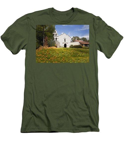 Mission San Diego De Alcala Men's T-Shirt (Athletic Fit)