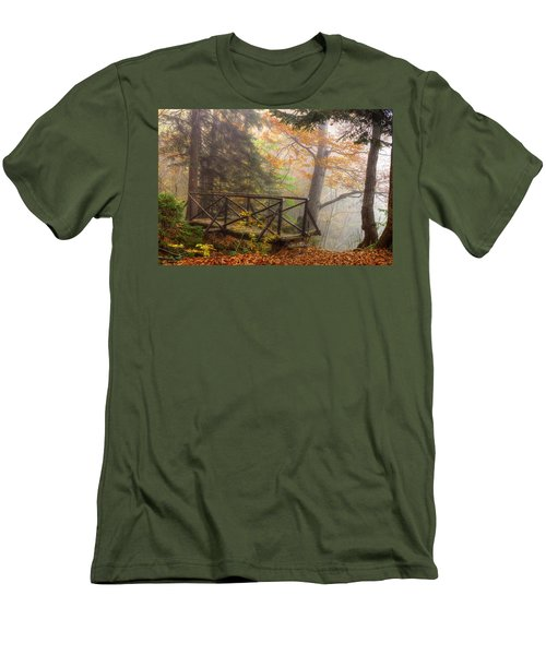Misty Forest Men's T-Shirt (Athletic Fit)
