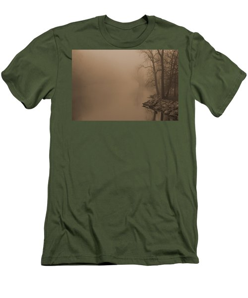 Misty River - Vintage  Men's T-Shirt (Athletic Fit)