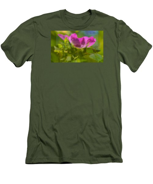 Men's T-Shirt (Slim Fit) featuring the photograph mix by Leif Sohlman